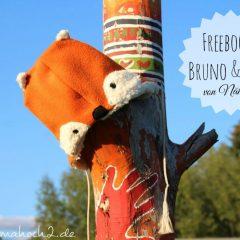 Freebooktratsch: Mütze Bruno & Foxi