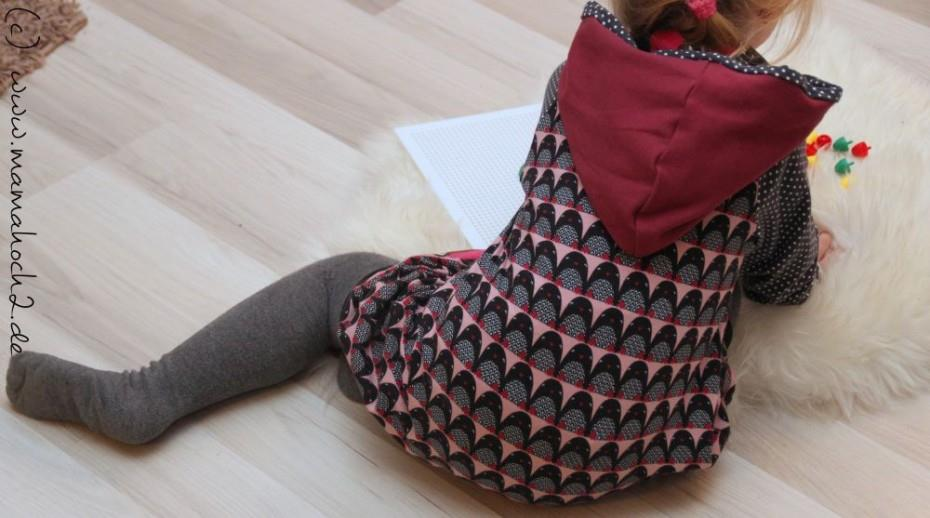Pinguin Ballonkleid Kapuze (1)