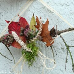 Mit Kindern basteln: DIY Herbstdeko aus Naturmaterialien