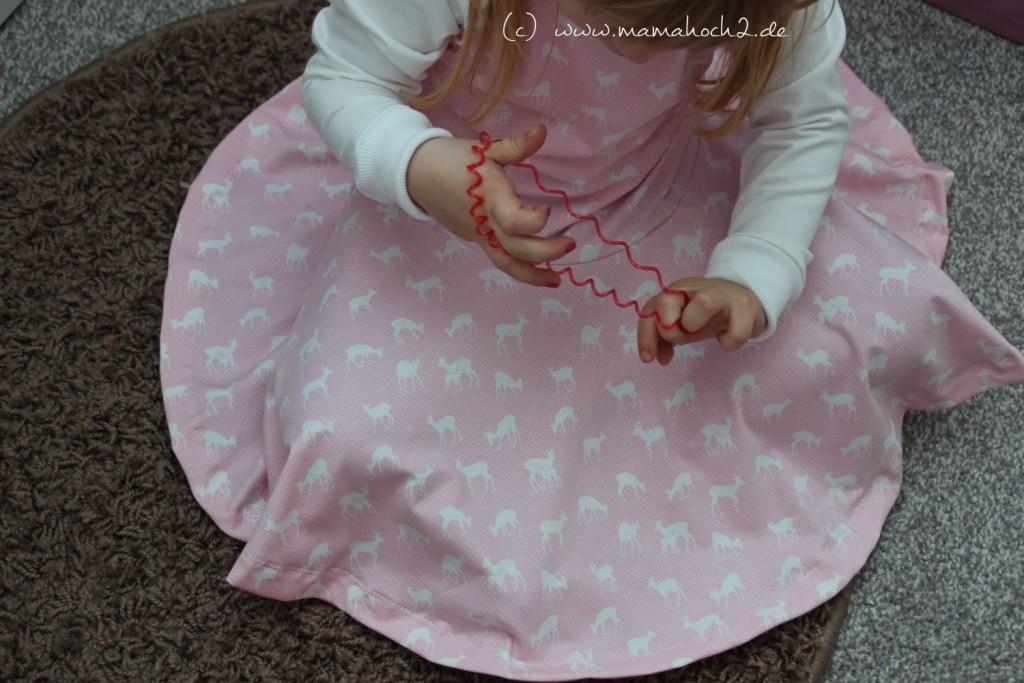 Drehkleid Weihnachtsoutfit Mädchen (36)