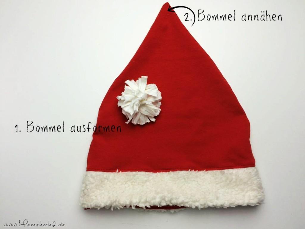 Mamahoch2 Weihnachten Mütze Tutorial 14