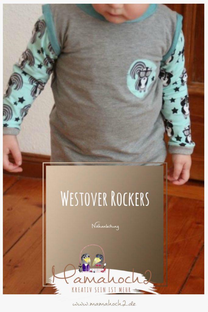 Nähanleitung für eine Weste – Mamahoch2 Westover Rockers