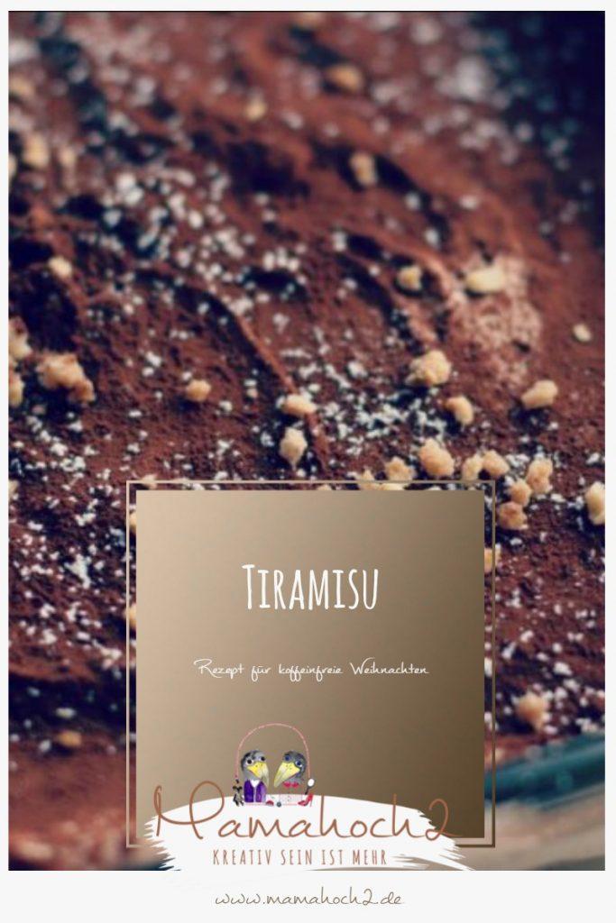 Rezept für koffeinfreies Tiramisu