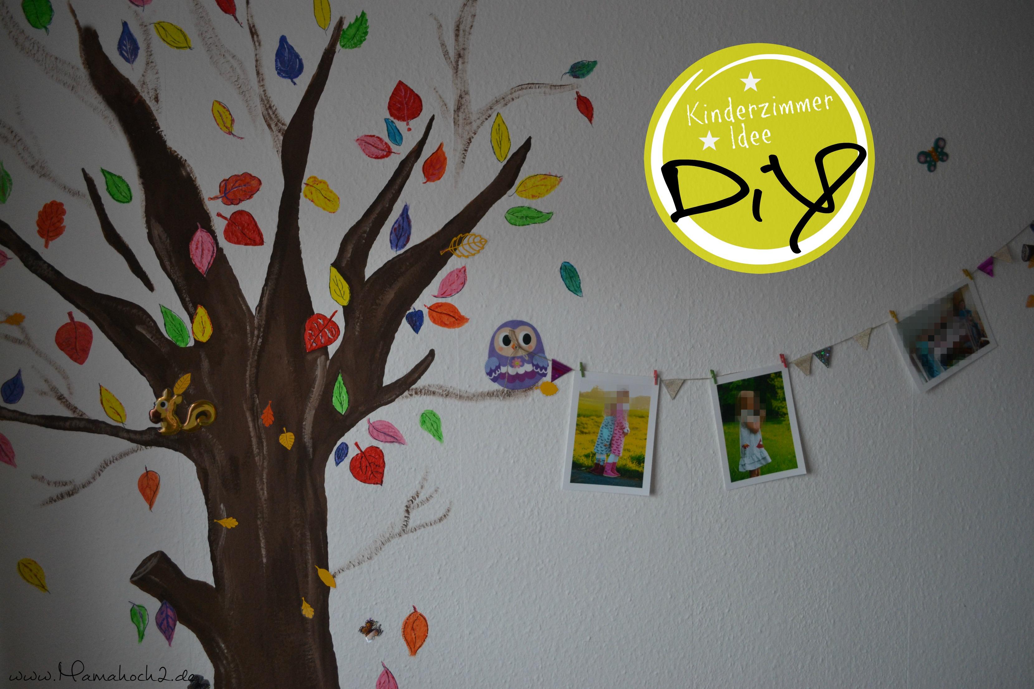 diy | ein baum im kinderzimmer - mamahoch2