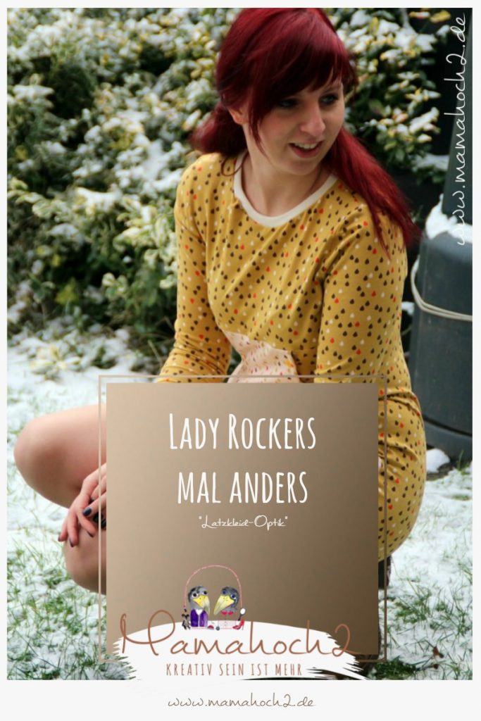 Lady Rockers in Latzkleid-Optik