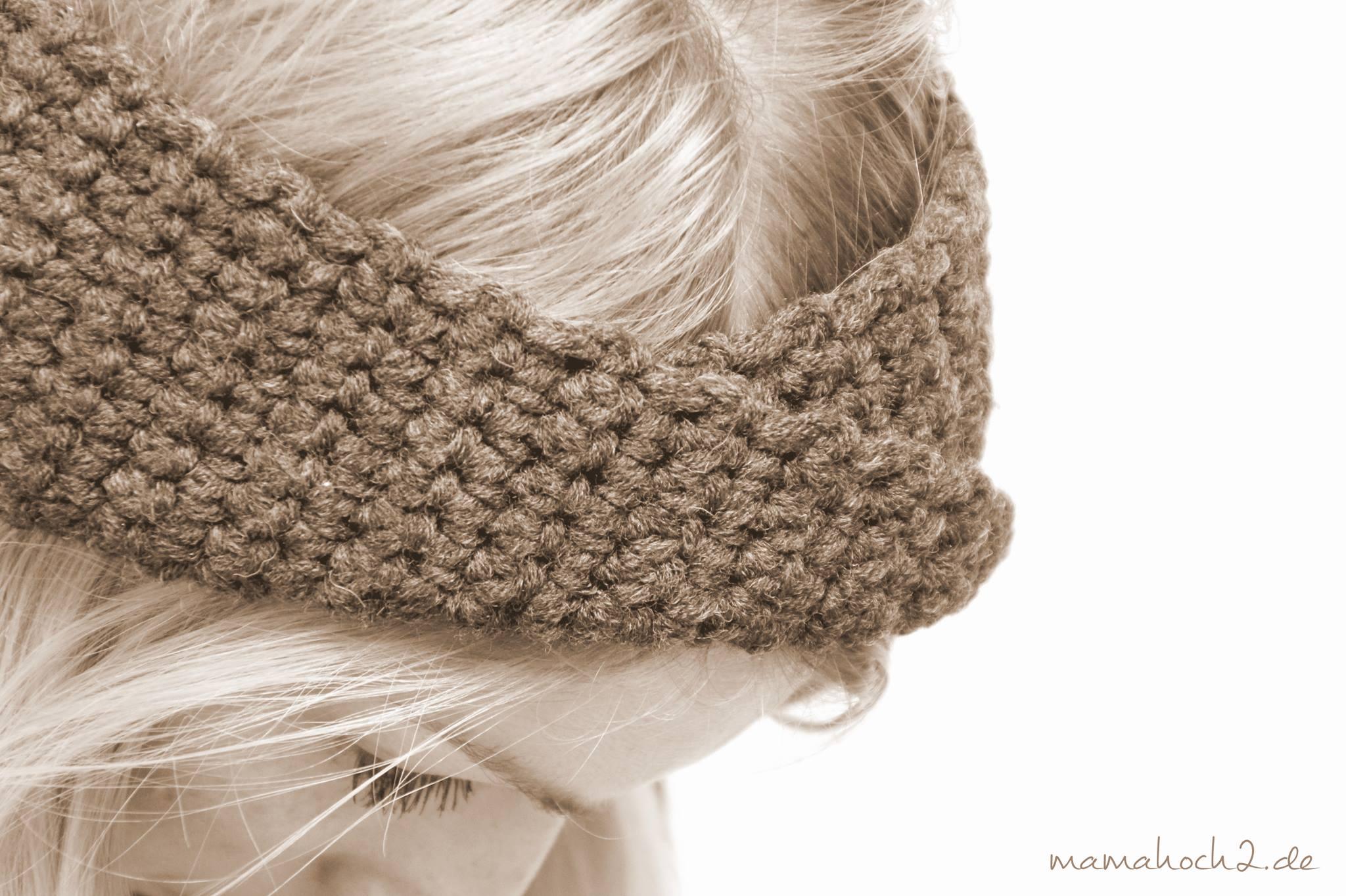 Stirnband Häkeln Mamahoch2