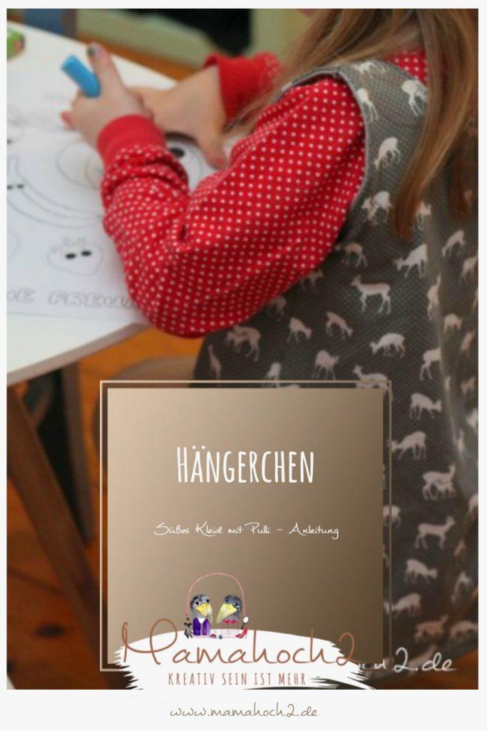 Anleitung für ein Hängerchen Kleid mit Pulli