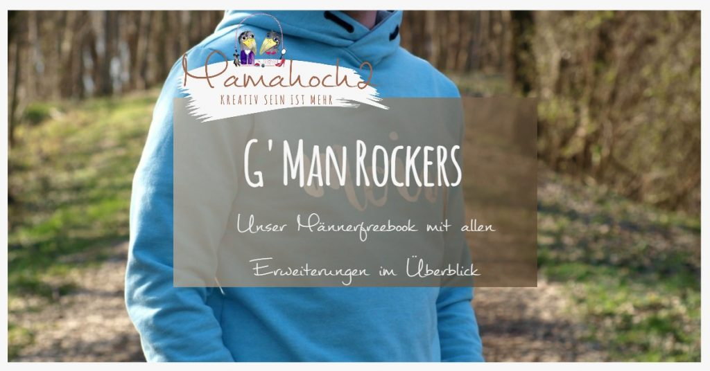 G Man Rockers Männerschnitt Freebook mit allen Erweiterungen
