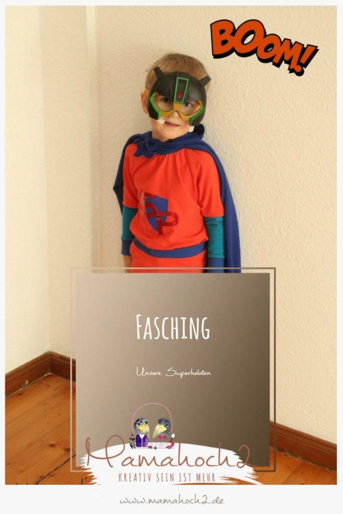 Superheld-Kostüm zum nachmachen