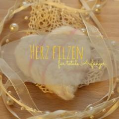 Filzen für Anfänger – Herz filzen