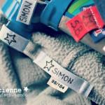 DIY eingenähte Namensetiketten Label magicienne