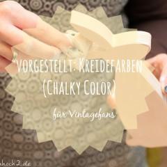 DIY Tipp: pastelliger Vintagelook mit Kreidefarbe