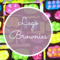 Rezept Lego Brownies