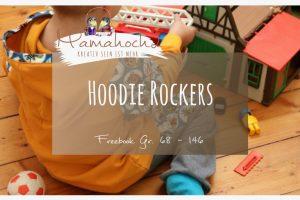 Hoodie Rockers Freebook 68-146 Schnittmuster