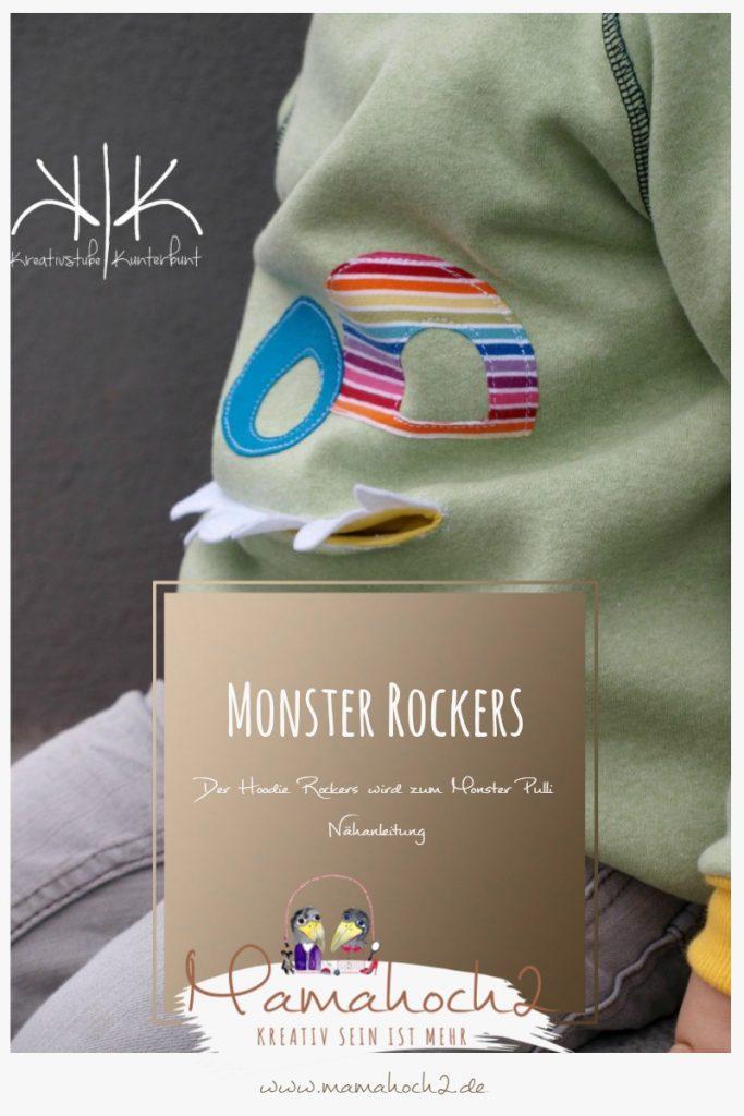 Monster Rockers Mach aus dem Hoodie einen monsterstarken Pulli