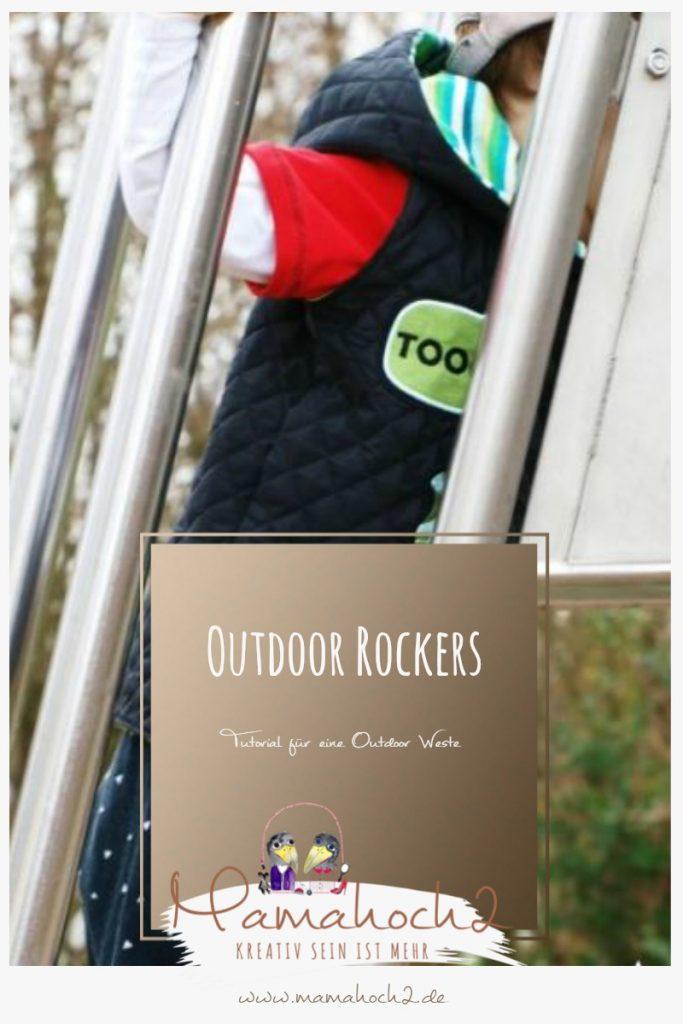 Outdoor Rockers Nähanleitung für eine Outdoor Weste