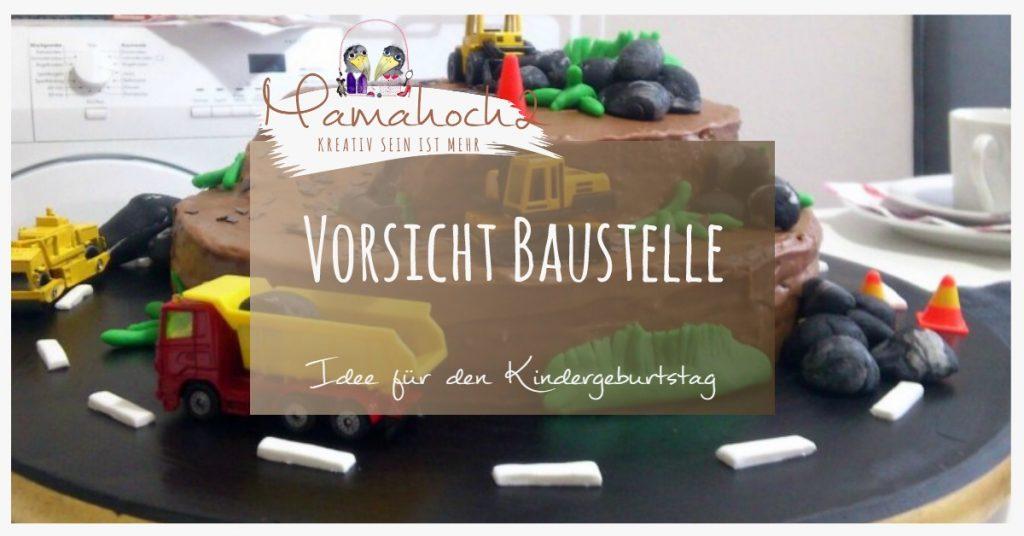 Produktbild Kindergeburtstag Baustelle
