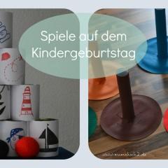 Spiele für den Kindergeburtstag selber basteln