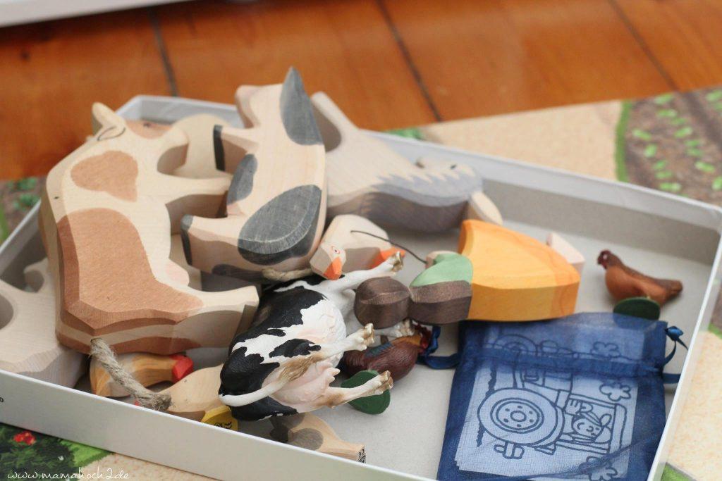 montessori spiel bilder tiere zuordnen