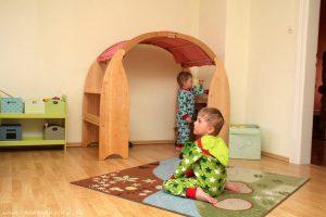 montessori spielbogen spielhaus kinderzimmer