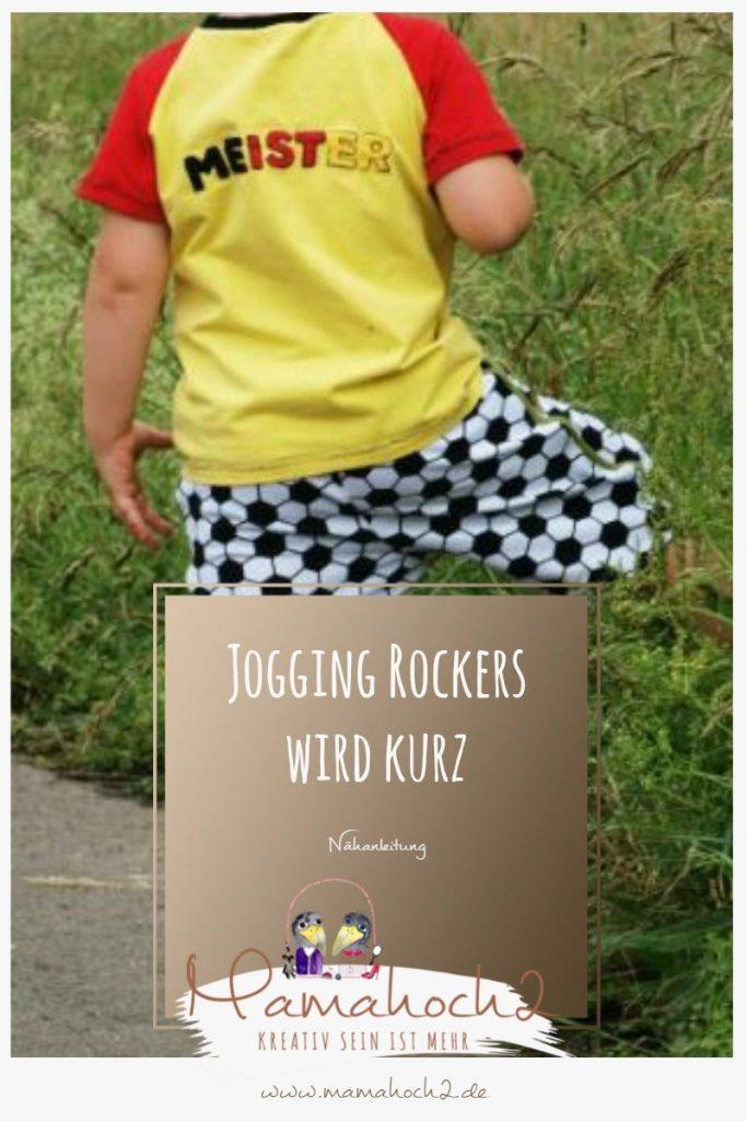 Nähanleitung für die Jogging Rockers in kurz