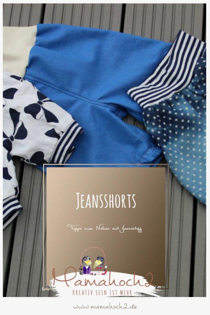 Nähen mit Jeans – Anleitung und Tipps