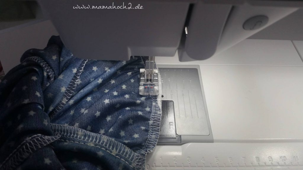 jeans naht sichern