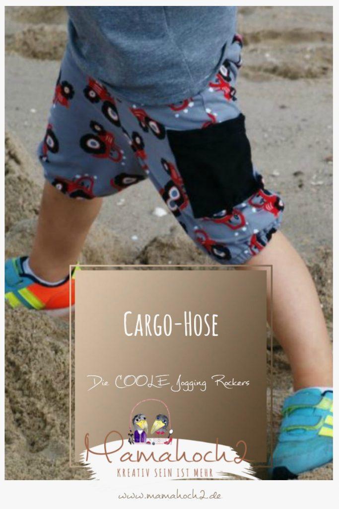 Nähanleitung kurze Cargo-Hose – die coole Jogging Rockers