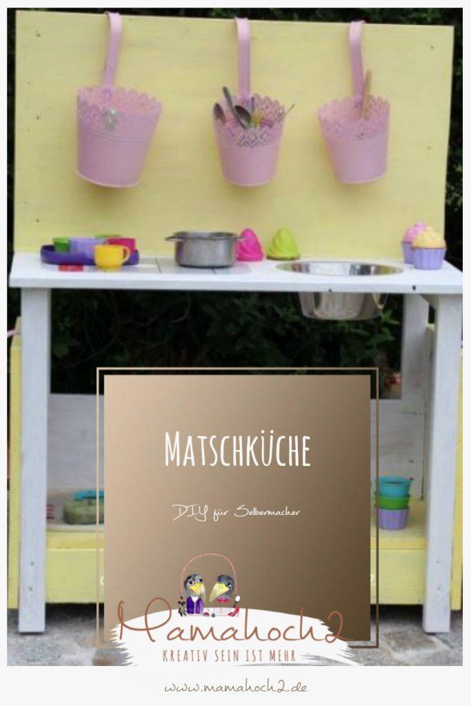 DIY – Bau dir deine Matschküche selbst
