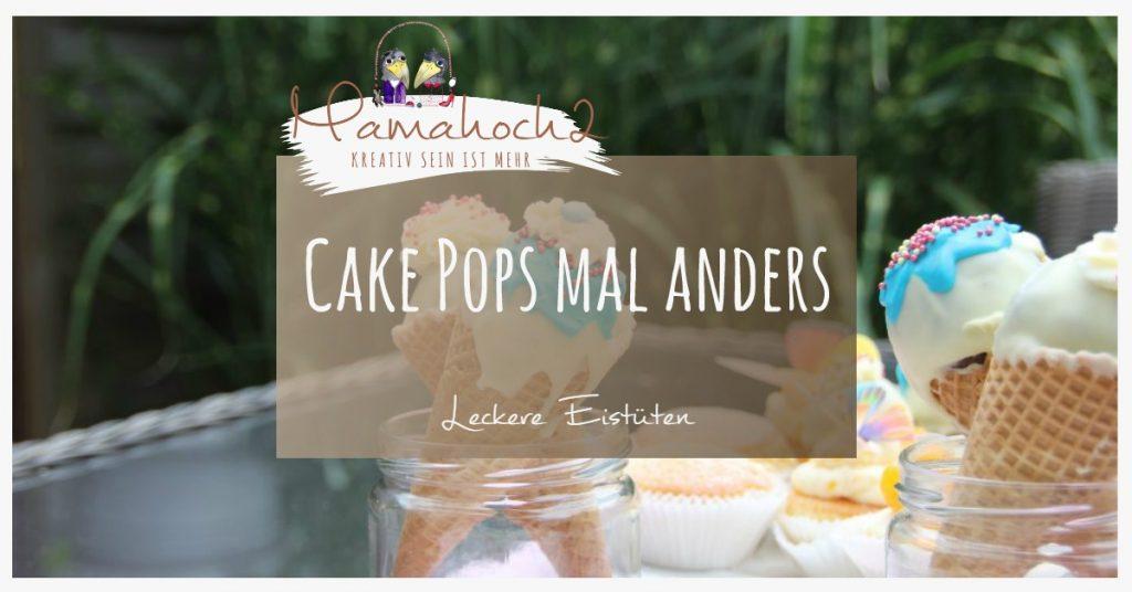 Produktbild Cake Pops Eistüten
