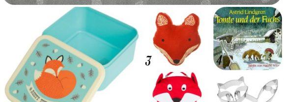 Kinder(zimmer)inspiration #1 – verfuchst noch einmal: Mamahoch2-Lieblinge für Fuchs-Freunde