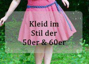 Kleid im Stil eines Petticoats
