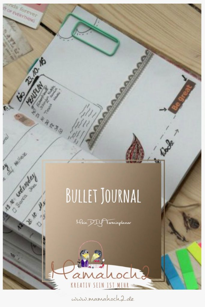 Bullet Journal – der DIY Terminkalender