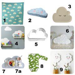 Kinder(zimmer)inspirationen #4: Auf Wolke 7 – Mamahoch2 Wolken Lieblinge