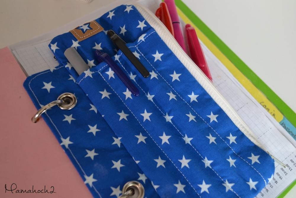 Nähanleitung: So kannst du dir eine einheftbare Stiftetasche nähen ...