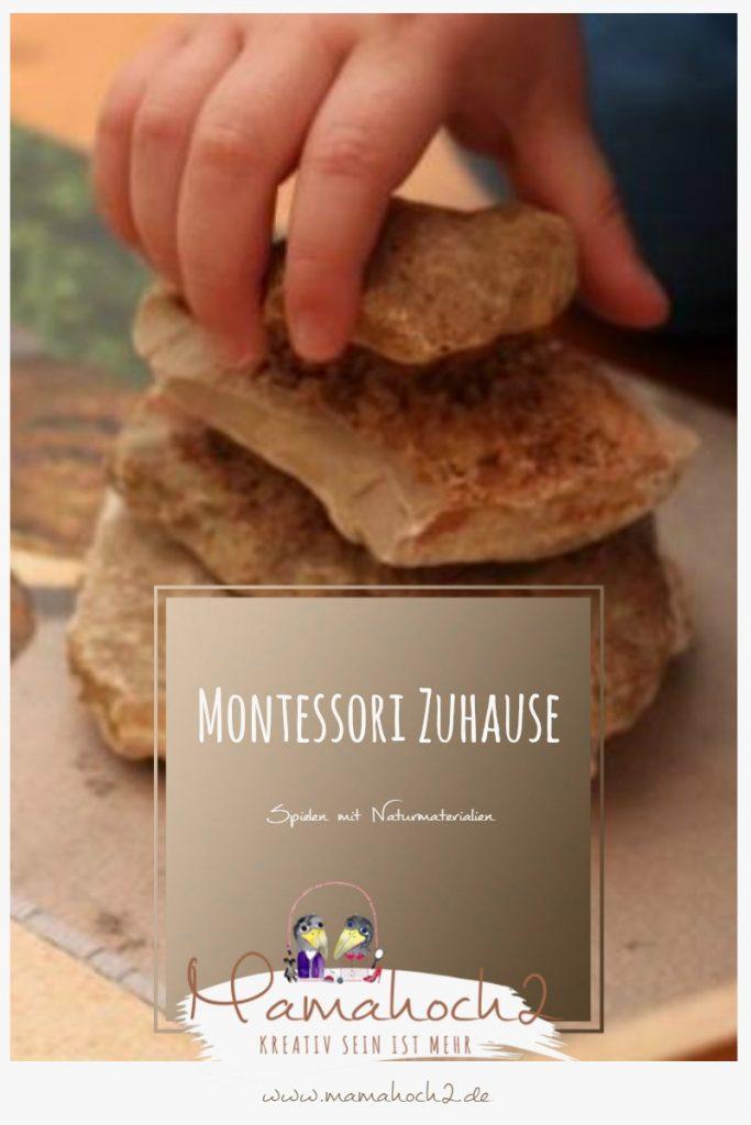 Montessori Zuhause – Spielen mit Naturmaterialien