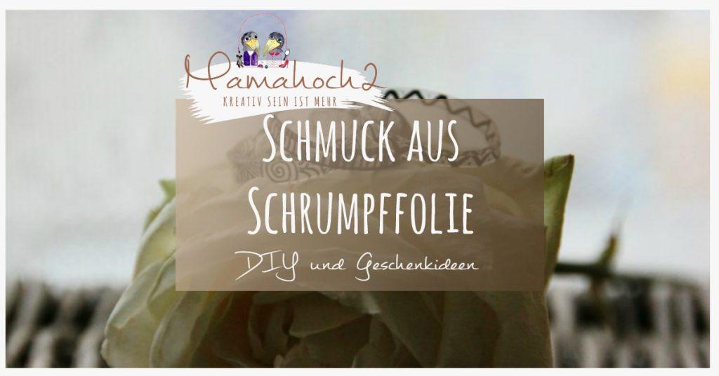 Produktbild Schmuck aus Schrumpffolie DIY Geschenkidee