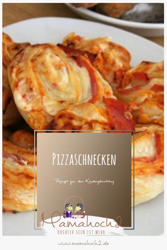 Rezept für Pizzaschnecken – perfekt für den Kindergeburtstag