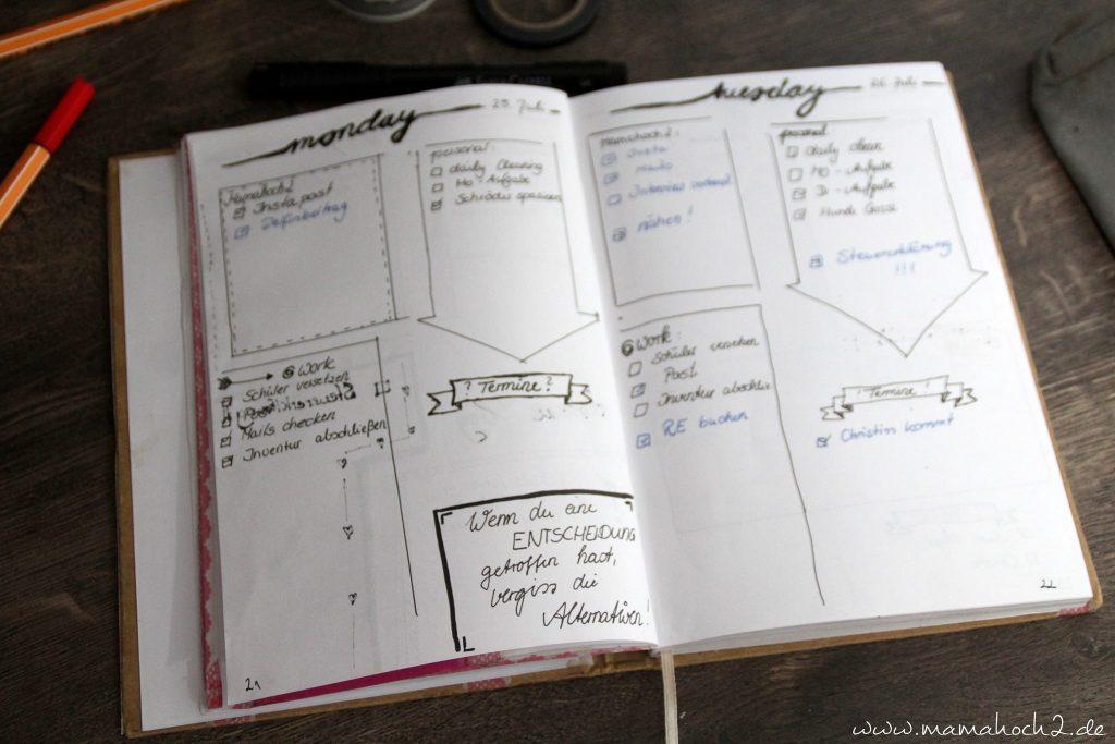 Organizer Selber Machen Bullet Journal Terminplaner Diy 15