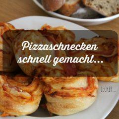 schnelles Rezept für den Kindergeburtstag: Pizzaschnecken