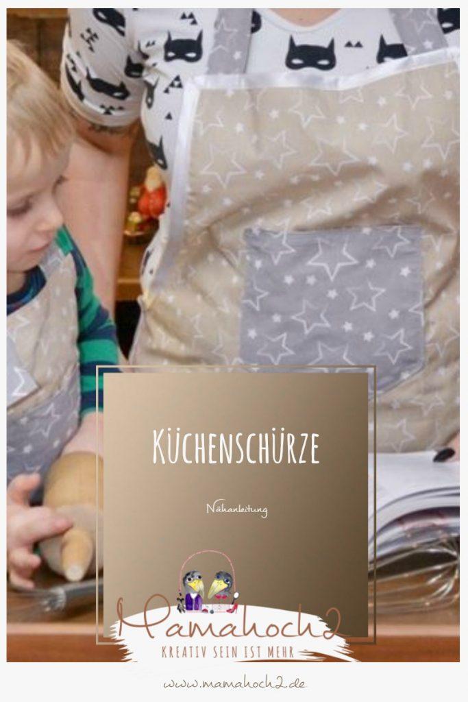 So Nahst Du Dir Und Deinem Kind Eine Kuchenschurze Nahanleitung Mamahoch2