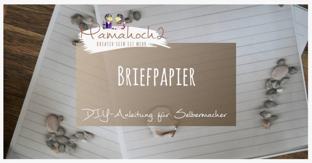 Produktbild Briefpapier DIY