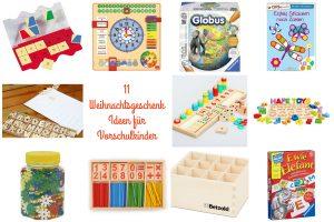 11 wertvolle Weihnachtsgeschenke für Vorschüler
