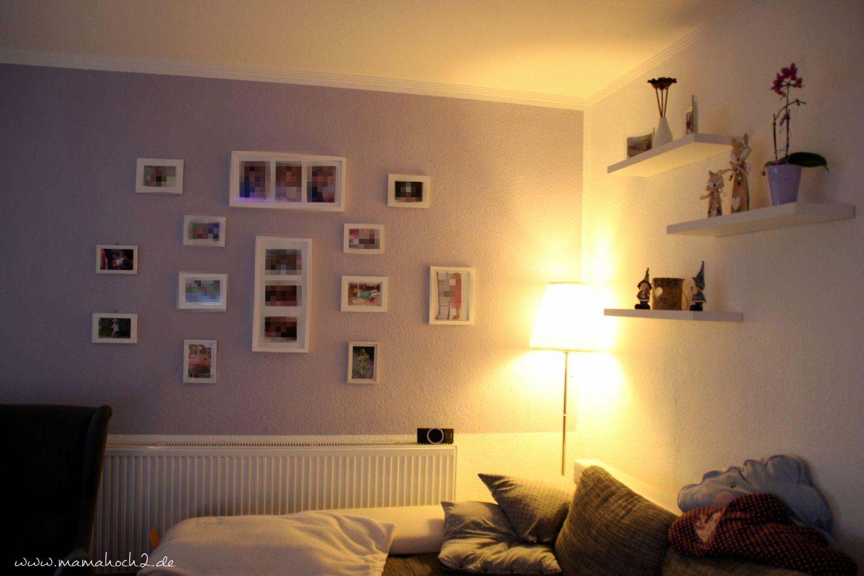 97+ [ Bilder Wohnzimmer Flieder ]   Wandfarbe Grau Mit Lila Streifen  Parkettboden Teppich Hocker