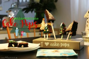 Last minute Idee: Rezept für weihnachtliche Cakepops