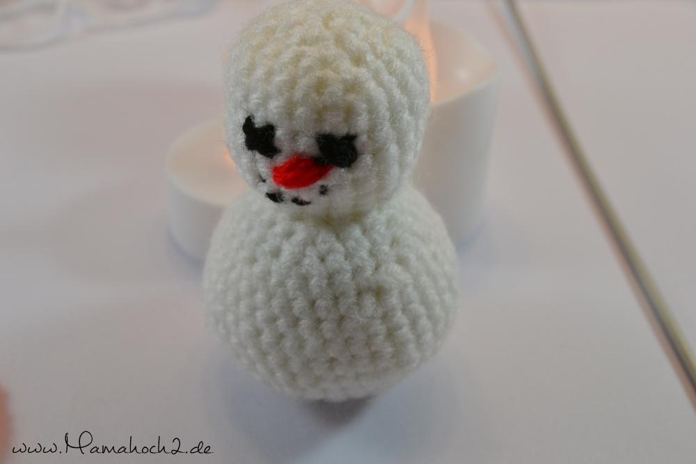 DIY - Häkel dir einen Schneemann ⋆ Mamahoch2