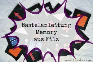 DIY – ein Kinder-Memory aus Filz basteln (genäht oder geplottet)