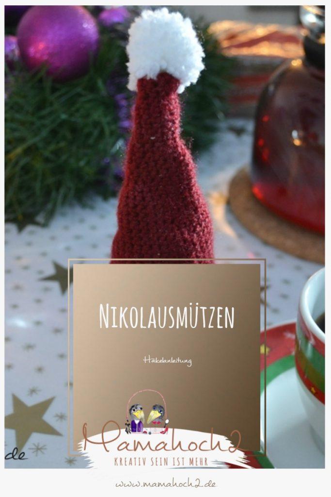 Häkelanleitung für Nikolausmützen