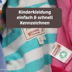 Bunte Namensetiketten und Aufkleber von Klebekerlchen Namensetiketten