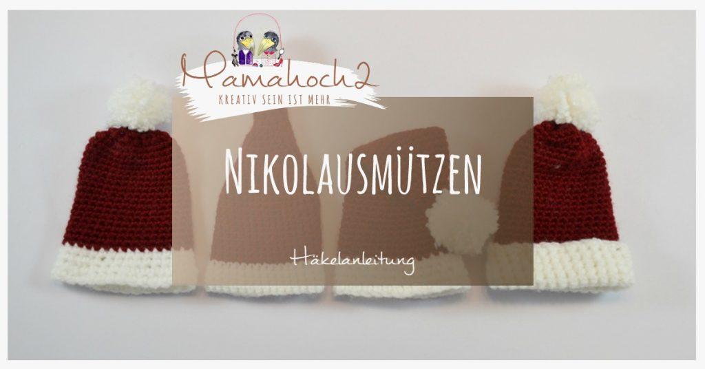 Produktbild Häkelanleitung Nikolausmützen